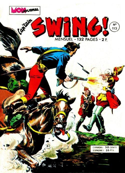 Couverture de Capt'ain Swing! (1re série) -113- Secret d'état