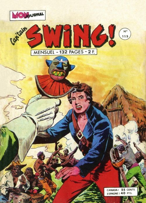 Couverture de Capt'ain Swing! (1re série) -115- Te souviens-tu de Montserrat ?