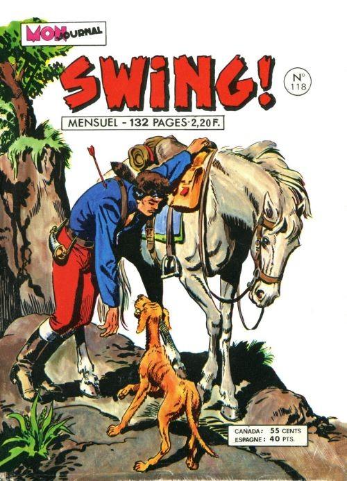 Couverture de Capt'ain Swing! (1re série) -118- Haine sans merci