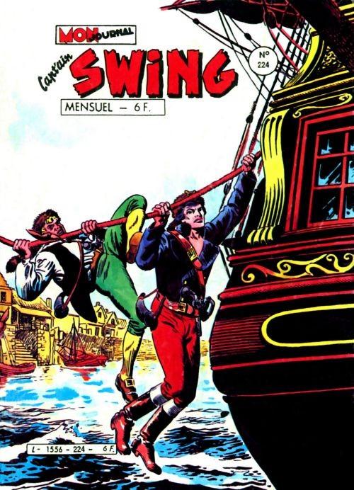 Couverture de Capt'ain Swing! (1re série) -224- Par le plomb, le feu et la corde...