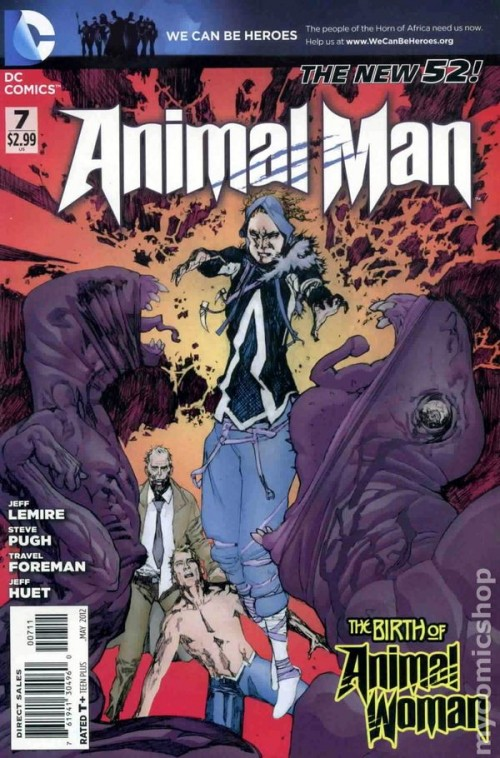 Couverture de Animal Man (2011) -7- Animal Man 7