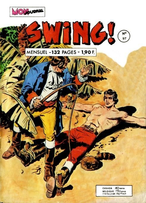 Couverture de Capt'ain Swing! (1re série) -97- L'île des mille et une surprises