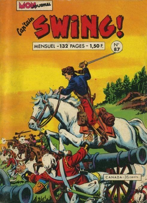 Couverture de Capt'ain Swing! (1re série) -87- Petits oiseaux et renards blancs