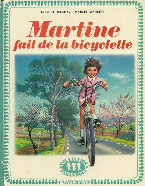 Couverture de Martine -21- Martine fait de la bicyclette