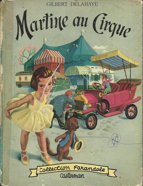 Couverture de Martine -4- Martine au cirque