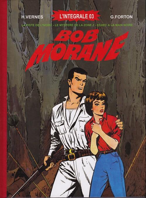 Couverture de Bob Morane 6 (Ananké/Miklo) -INT03TT- L'Intégrale 03