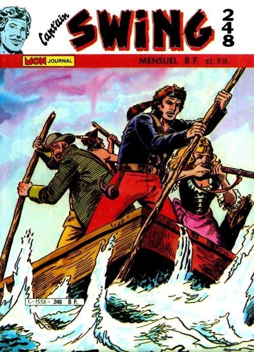 Couverture de Capt'ain Swing! (1re série) -248- Bison Ivre