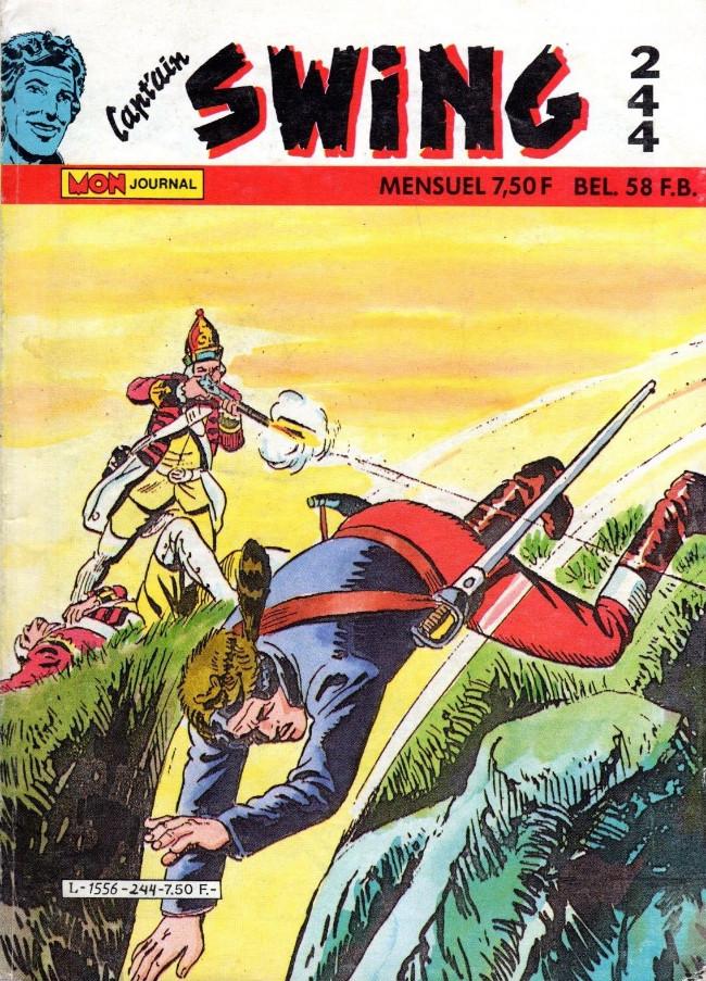 Couverture de Capt'ain Swing! (1re série) -244- Le prix de l'honneur