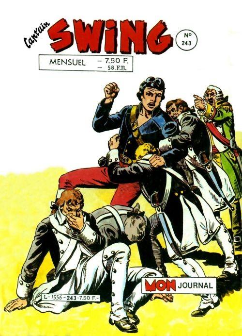 Couverture de Capt'ain Swing! (1re série) -243- Le canon des Loups
