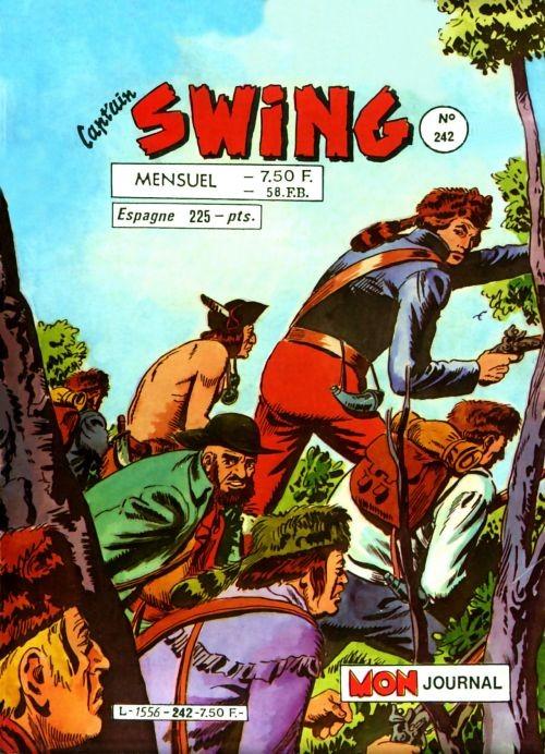 Couverture de Capt'ain Swing! (1re série) -242- Les émigrés du Caucase