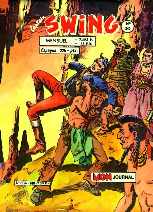 Couverture de Capt'ain Swing! (1re série) -240- L'élixir des Kaiankas
