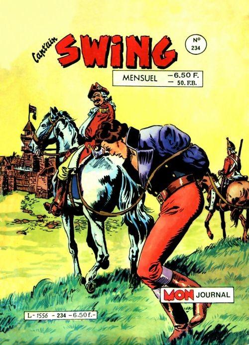 Couverture de Capt'ain Swing! (1re série) -234- Le valet de pique