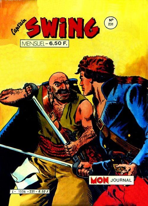 Couverture de Capt'ain Swing! (1re série) -231- La malédiction de Hibou Lugubre