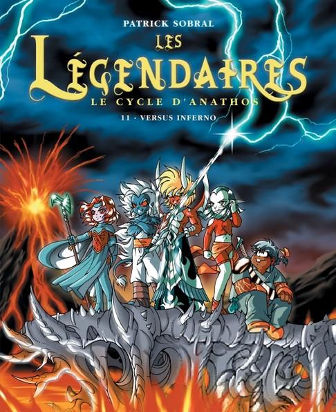 Couverture de Les légendaires -FL6- Versus inferno / renaissance