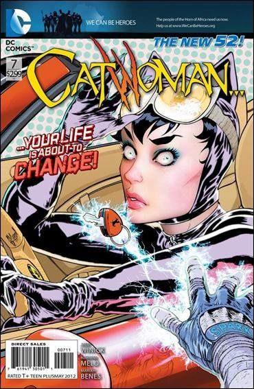 Couverture de Catwoman (2011) -7- But there's no harm taking a good hard look