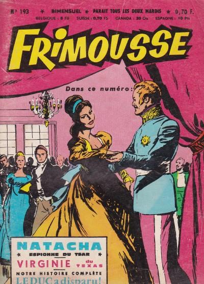 Couverture de Frimousse et Frimousse-Capucine -193- Le duc a disparu