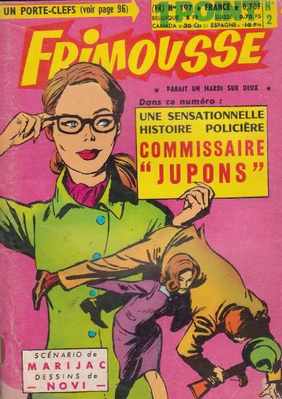 Couverture de Frimousse et Frimousse-Capucine -1972- Commissaire