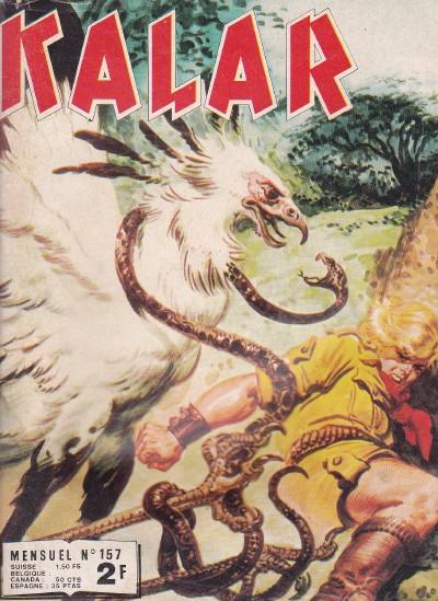 Couverture de Kalar -157- Le diable en bouteille