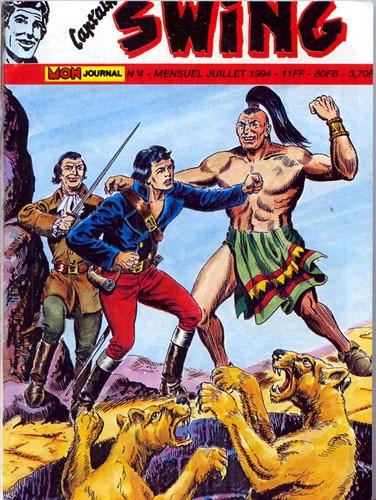 Couverture de Capt'ain Swing! (2e série - Mon Journal) -4- Le grand Cacique
