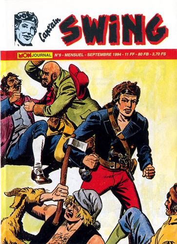 Couverture de Capt'ain Swing! (2e série - Mon Journal) -6- Le grand Reginald