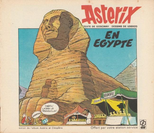 Couverture de Astérix (Elf) -12- Astérix en Égypte