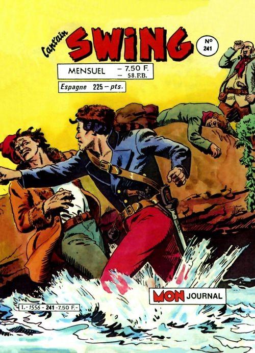 Couverture de Capt'ain Swing! (1re série) -241- Le mystérieux Mister X
