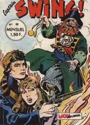 Couverture de Capt'ain Swing! (1re série) -68- Le trésor du fantôme