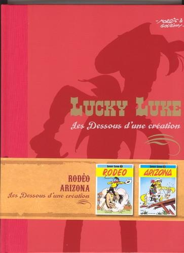 Couverture de Lucky Luke - Les Dessous d'une création (Atlas) -33- Rodéo / Arizona