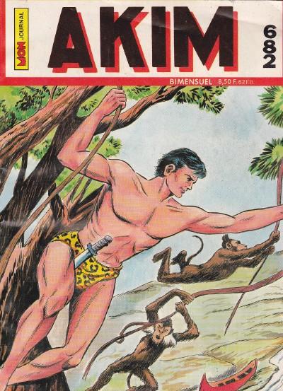 Couverture de Akim (1re série) -682- Kuwak le pirate