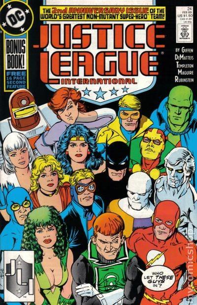 Couverture de Justice League International (1987) -24- The road less travelled