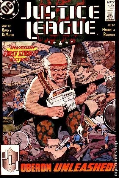 Couverture de Justice League International (1987) -22- Little murders