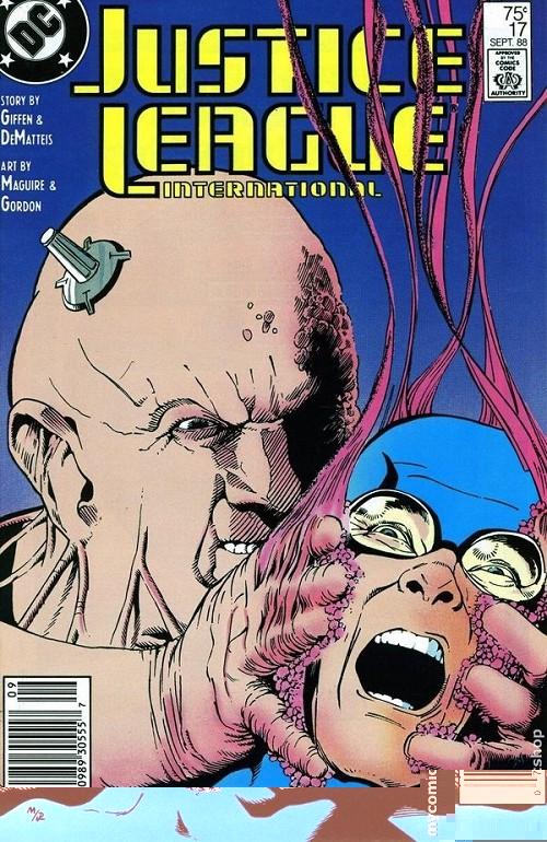 Couverture de Justice League International (1987) -17- Only the dead know