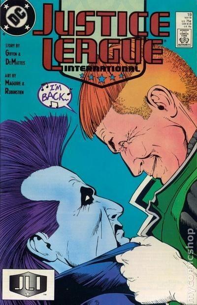 Couverture de Justice League International (1987) -19- No more Mr nice Guy