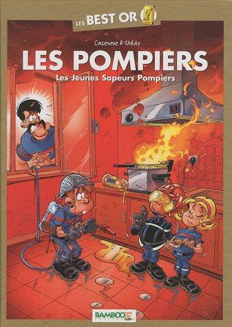 Couverture de Les pompiers -BO1- Les Jeunes Sapeurs Pompiers