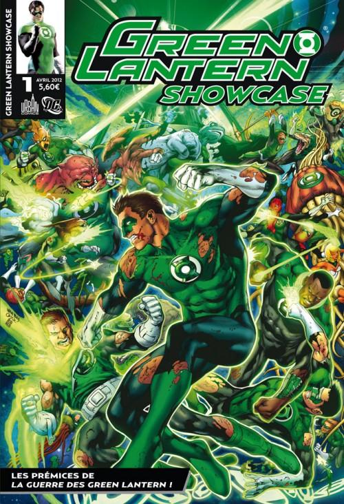 Couverture de Green Lantern Showcase -1- Les prémices de la guerre des Green lantern !