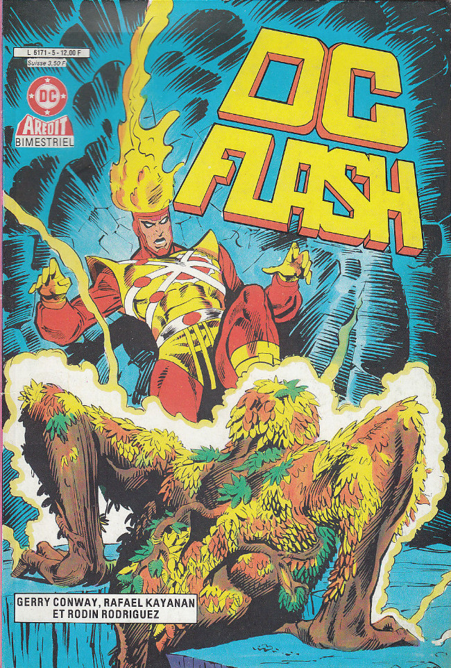 Couverture de DC Flash -5- Le fardeau du rêve