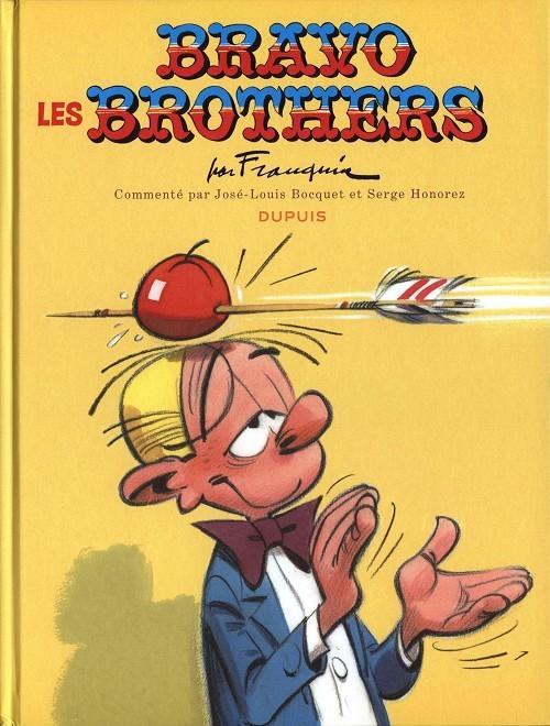 Couverture de Spirou et Fantasio -HCourte1- Bravo les Brothers