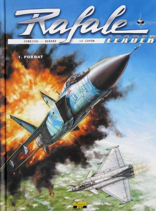 Couverture de Rafale leader -1- Foxbat