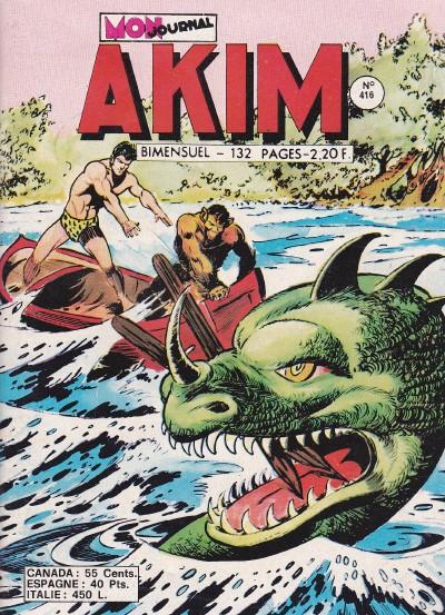 Couverture de Akim (1re série) -416- Le fléau vivant