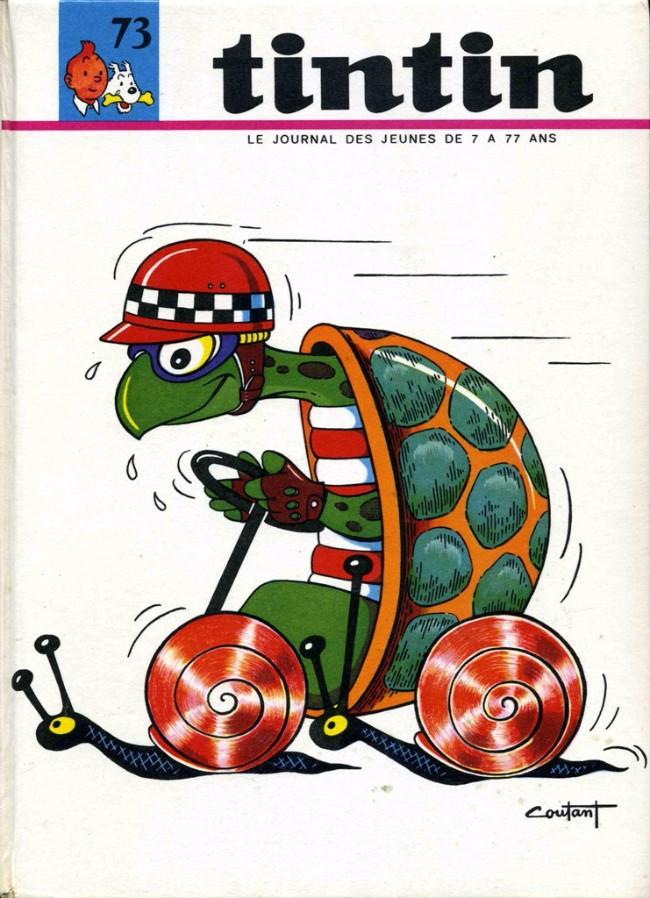 Couverture de (Recueil) Tintin (Album du journal - Édition française) -73- Tintin album du journal (n°978 à 990)