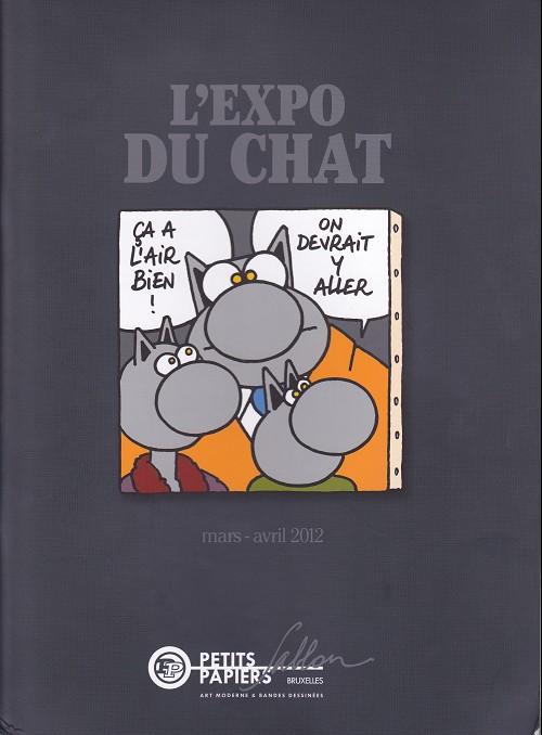 Couverture de Le chat -Cat- L'Expo du chat
