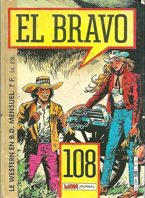 Couverture de El Bravo (Mon Journal) -108- La squaw blanche