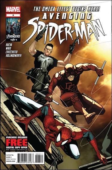 Couverture de Avenging Spider-Man (2012) -6- Omega effect