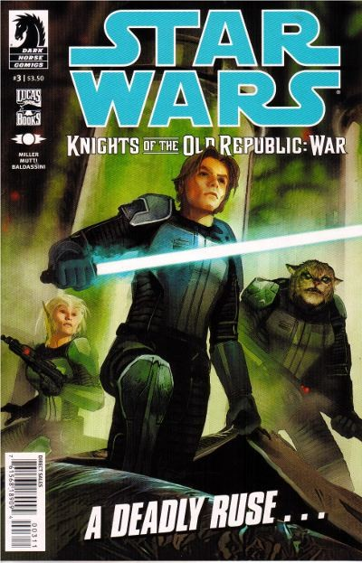 Couverture de Star Wars: Knights Of The Old Republic - War (2012) -3- War 3