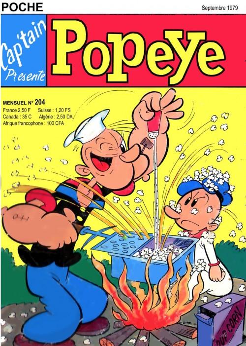 Couverture de Popeye (Cap'tain présente) -204- Pour l'amour d'Olive