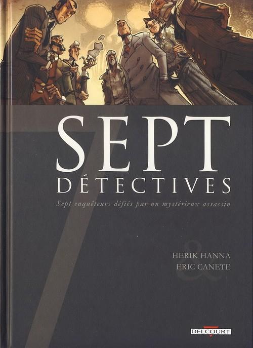Couverture de Sept -13- Sept détectives