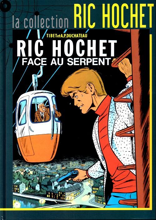 Couverture de Ric Hochet - La collection (Hachette) -8- Ric Hochet face au serpent