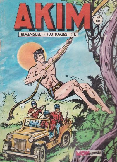 Couverture de Akim (1re série) -260- Le troisième voleur