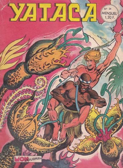 Couverture de Yataca (Fils-du-Soleil) -24- Le chant des lis qui tuent