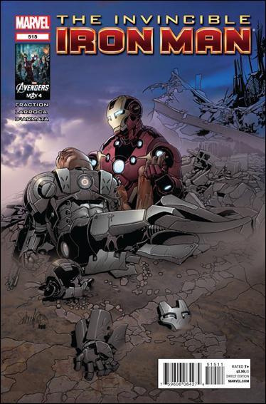 Couverture de Invincible Iron Man (2008) -515- Demon part 6 : fall